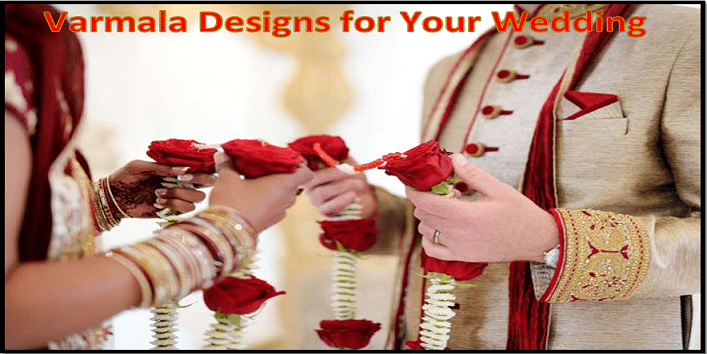 6 Unique Varmala Designs for Your Wedding