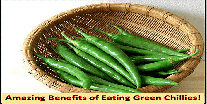 Know More: 10 Amazing Benefits of Eating Green Chillies!