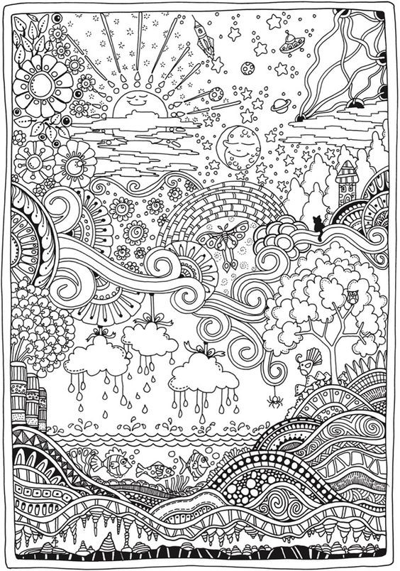 Colouring Book to Prevent Labour Pain2