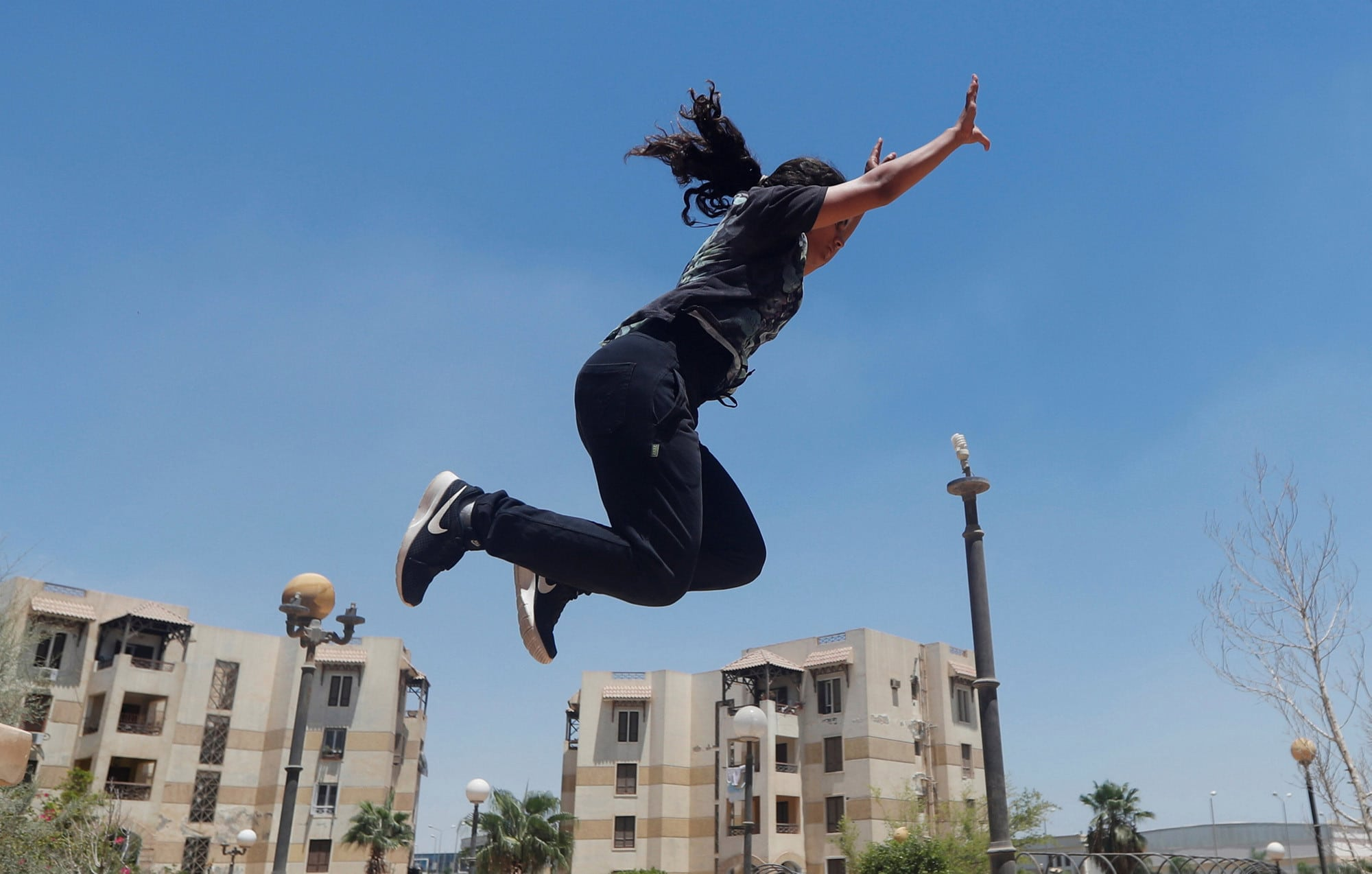 Egyptian News: women challenge social norms by practicing Parkour