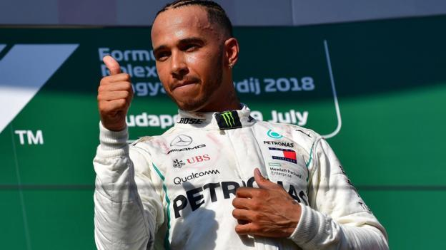Hungarian GP: Lewis Hamilton to 'turn up heat' in second half of season