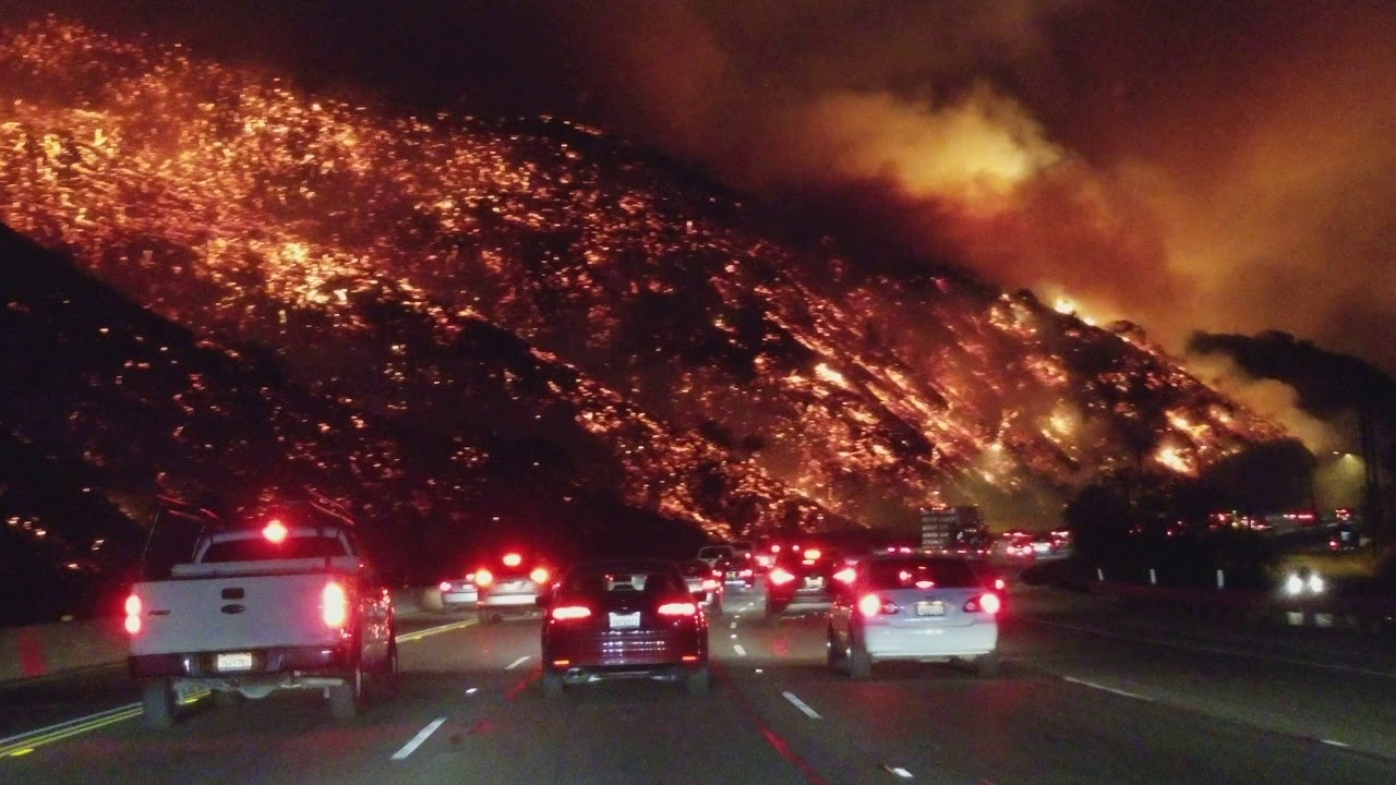 California Wildfire: Thousands of People Evacuated, Charge grows to five as flames rage on