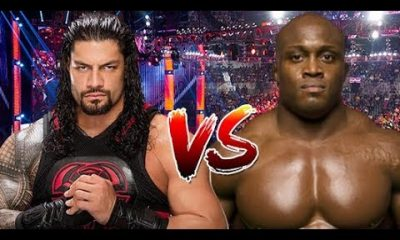 Bobby Lashley Vs. Roman rule