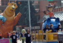 K-Days parade: Motorists Frustration on Friday Fun on Spectators