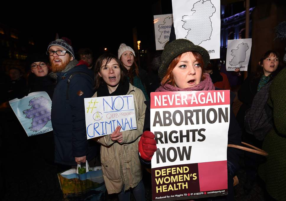 Activists beat the punishment of raped girl who had abortion