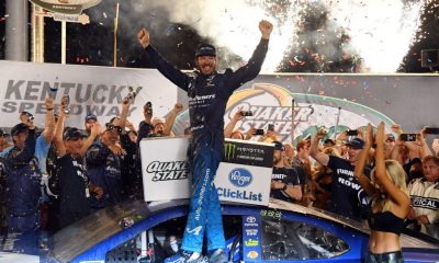 Martin Truex Jr. repeats at Kentucky Speedway