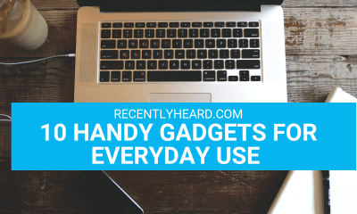 10 Handy Gadgets You'll Need Everyday Indoors or Outdoors