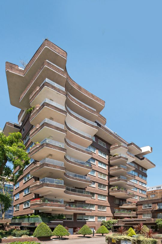Exterior view of the block of flats where the three-storey penthouse, in St John???s Wood, London has been put on sale for a staggering ??10million. See SWNS story SWBRproperty; One of Britain???s largest apartments has been put on the market for almost ??10 million - and it has an 85FT long entertaining suite. The three-storey penthouse, in St John???s Wood, London, has stunning views across Regent???s Park. It is in ???unmodernised??? condition but boasts nine bedrooms, five bathrooms and four reception rooms. The triplex, which is the second largest apartment currently for sale on the open market in London, also has an incredible 4,125 sq/ft of terraces and balconies with views across the capital???s skyline.