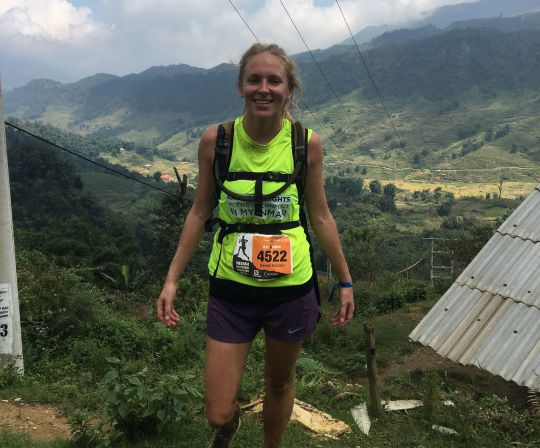 1539790718 592 Woman attempts 12 marathons in 12 months to raise money for Myanmar