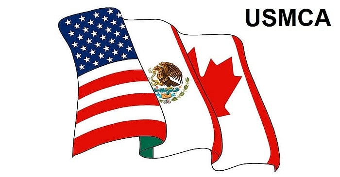 Donald Trump's new USMCA - Trade deal between the US, Canada and Mexico