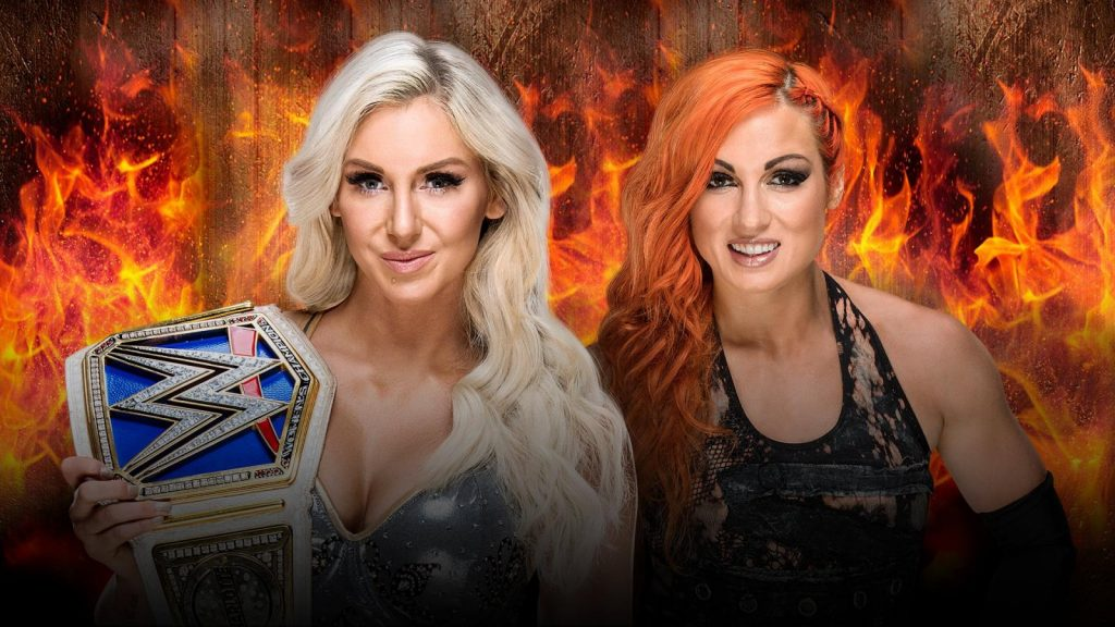BECKY LYNCH (c) vs CHARLOTTE FLAIR