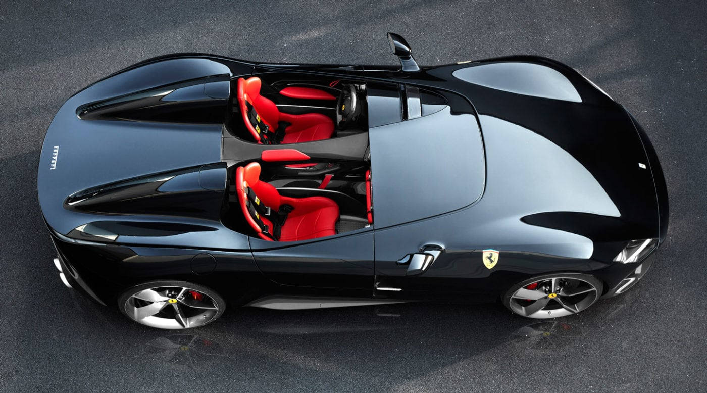 Ferrari's New Cars Don't have a Roof or Windshield
