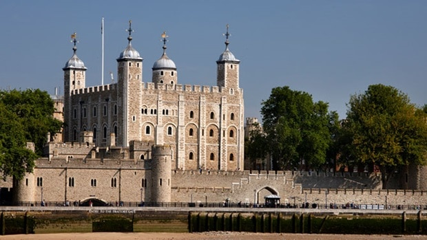 THE LONDON TOWER, LONDON