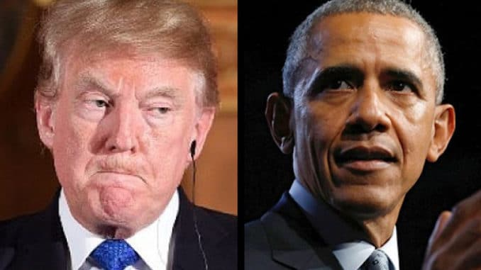 "Trump Slammed Obama & his lawless Administration for ""spying"" on his presidential campaign"