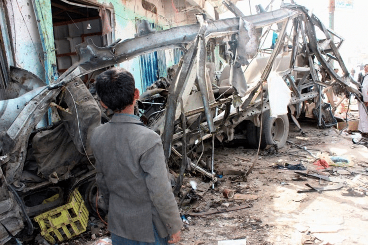 US President Trump says the attack on the bus, in Yemen, was due to bombers not using weapon properly