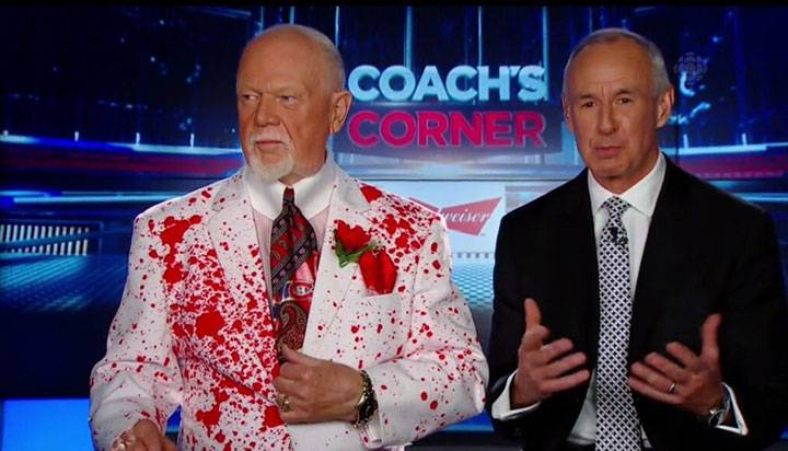 Don Cherry says he regrets wearing this suit on 'Coach's Corner'