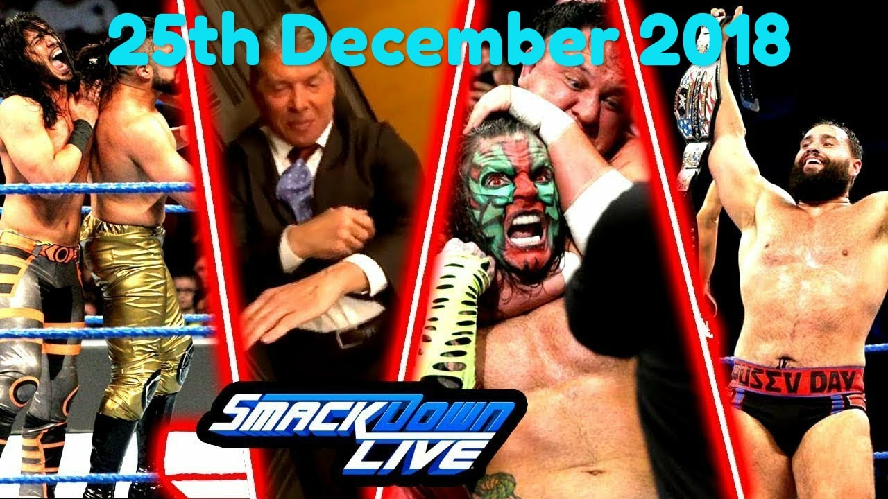 Tuesday Night SmackDown Live 25th December 2018: All matches and Reviews