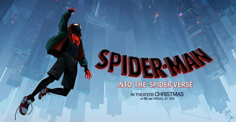 Spiderman: Into The Spider Verse