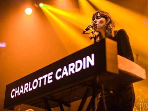 Charlotte Cardin live at REBEL in Toronto on Feb. 11, 2018.