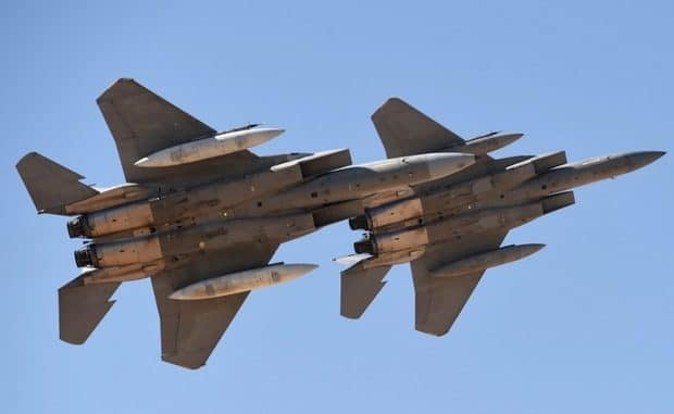 Saudi-Led Warplanes Coalition Launch 28 Airstrikes On Yemen
