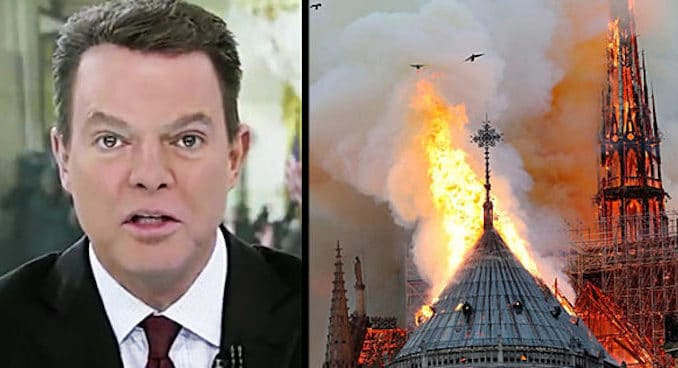 Shep Smith censors French official who linked Islamists to Notre Dame fire