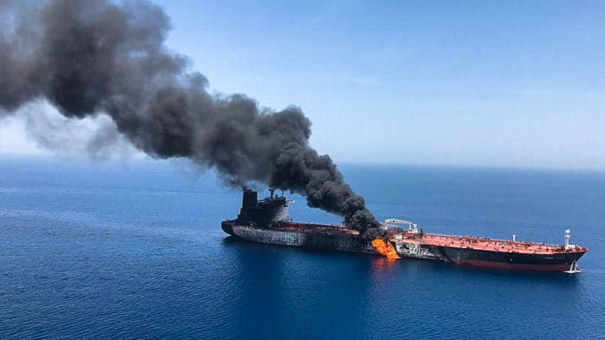 US & Saudi Arabia Blame Iran For Oil Tanker Attacks In Gulf Of Oman