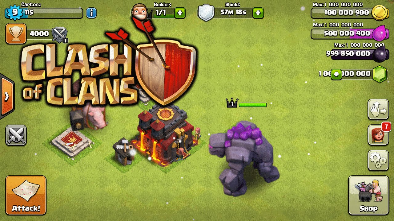 clash of clans hack apk download free