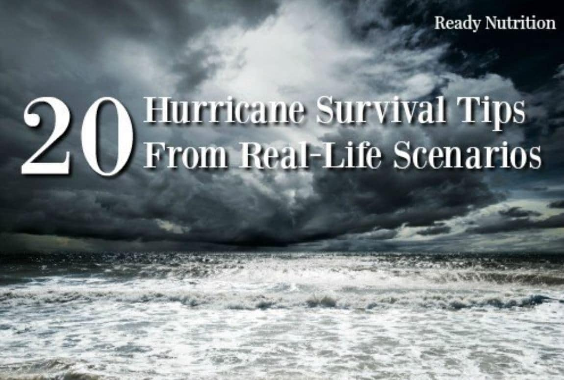 20 Tips from the Hurricane Survival Real-Life Scenarios