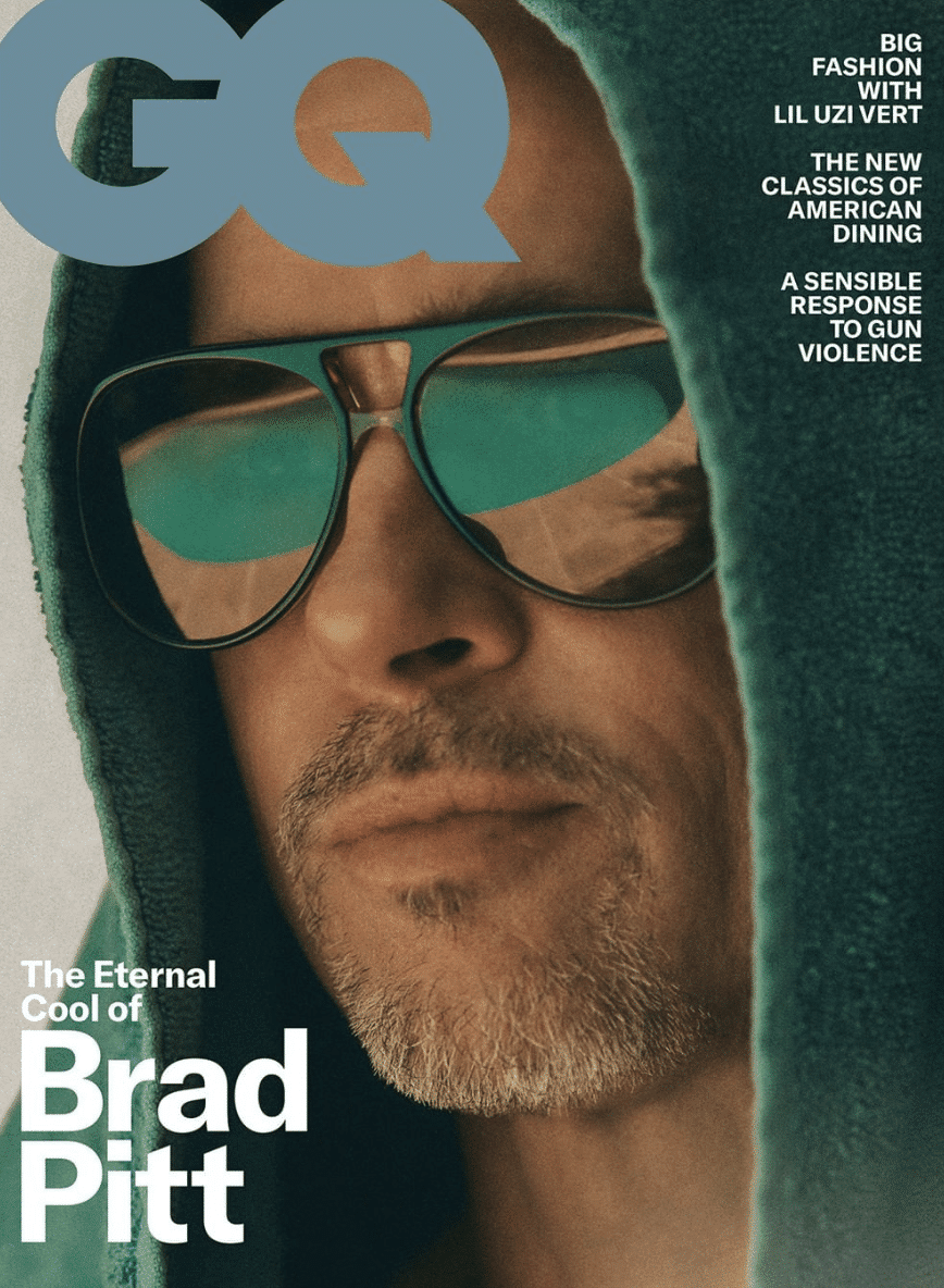 Brad Pitt suggests that at 55 ' much more significant ' who he spends his time with