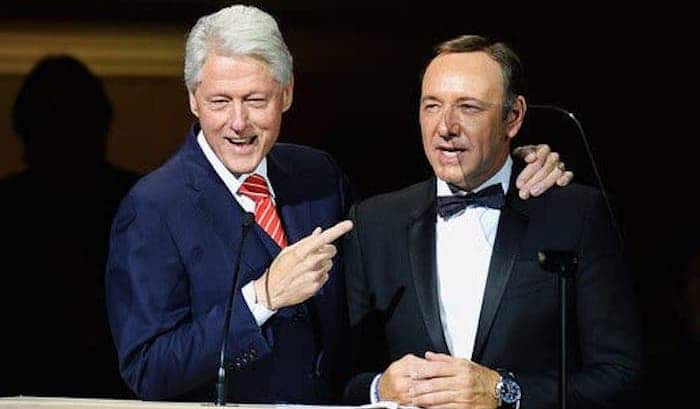Kevin Spacey Accuser of Sexual Assault Suddenly