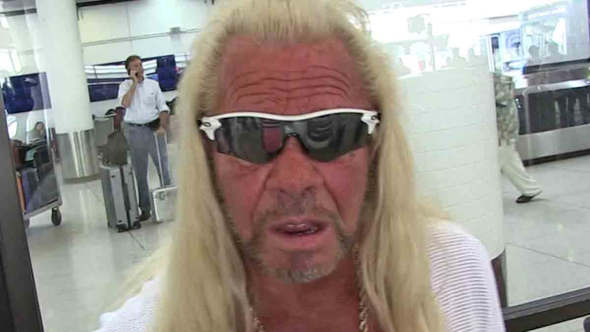 "Dog The Bounty Hunter says ""The broken heart"""