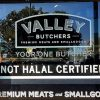 Butcher Refuses to Remove the Sign of' Not Halal'