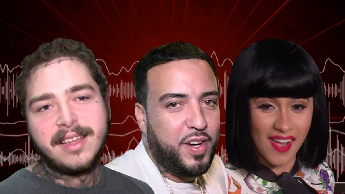 French Montana Gets Post Malone, New Song's Cardi B ' Writing on the Wall '