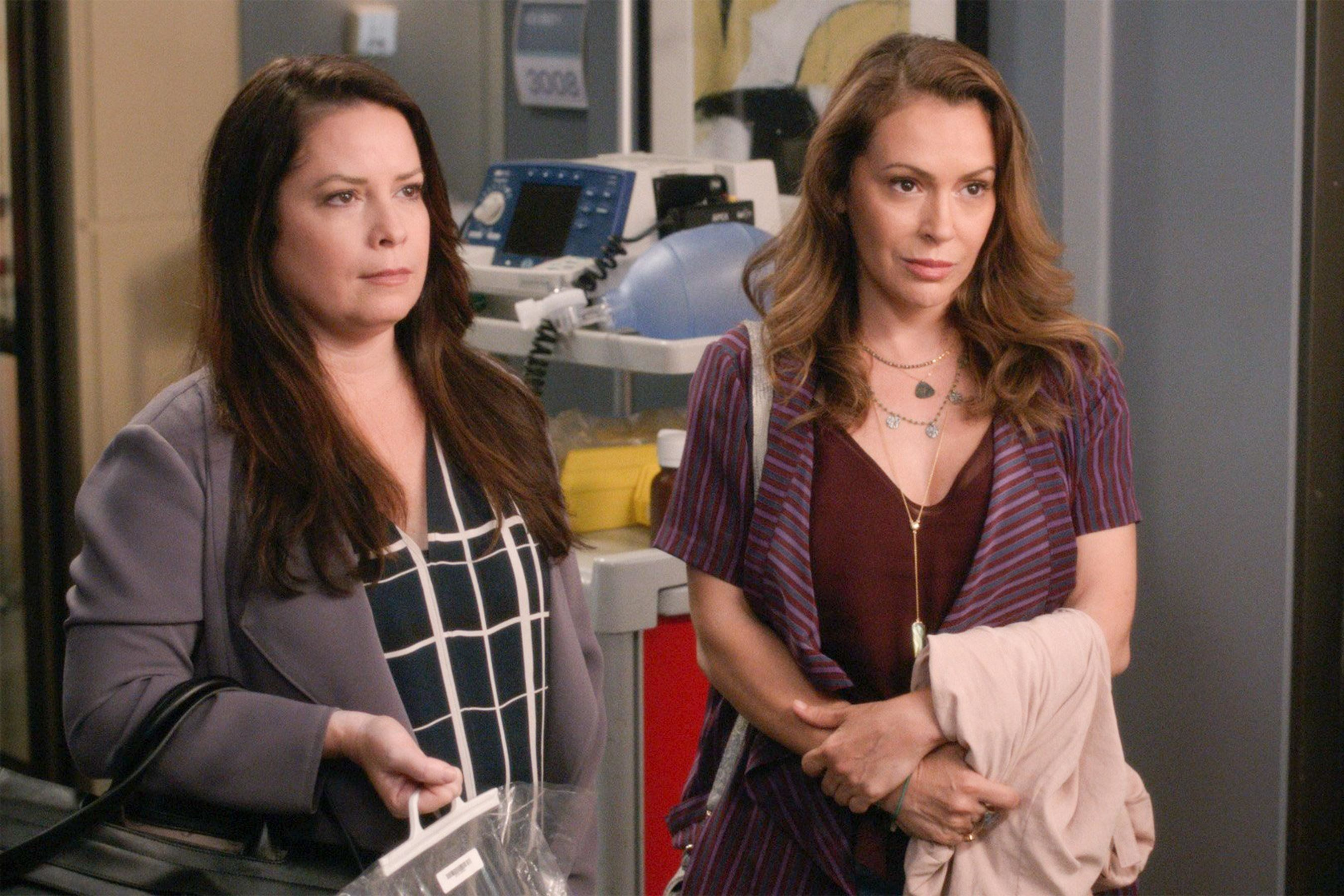 Charmed stars gather to play Grey's Anatomy sisters
