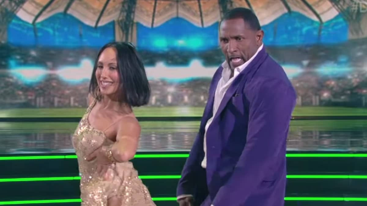 Ray Lewis Castmate Ally Brooke Quits ' Dancing ' Over Injury