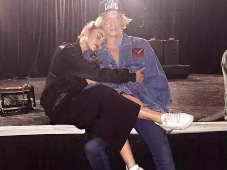 Miley Cyrus Spotted Kissing Singer Cody Simpson