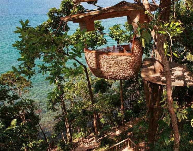 Bird's Nest Restaurant, Thailand