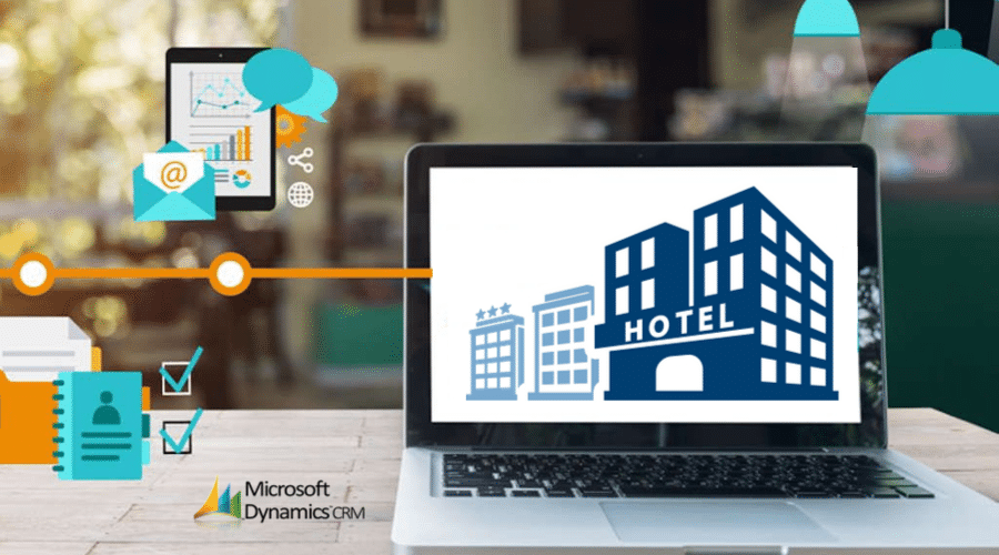 Hotel management with crm