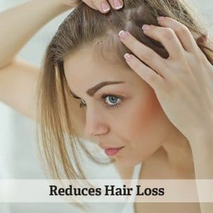 Reduces Hair Loss