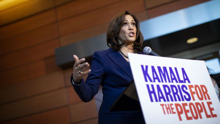 Drops of the Presidential Race Kamala Harris