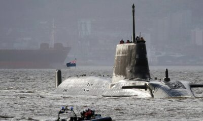 United Kingdom's NuclearSubmarinein a position to attack Iran if tensions give way to war
