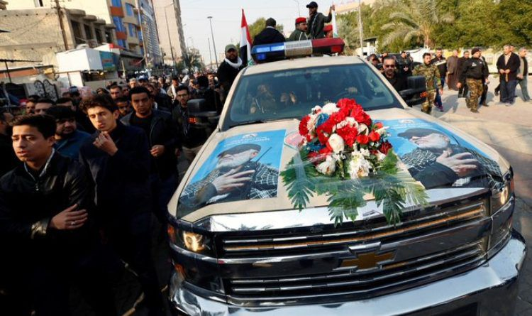 Corps of terrorist Qassim Soleimani Carried to Tehran in Chevy Truck Made in the United States