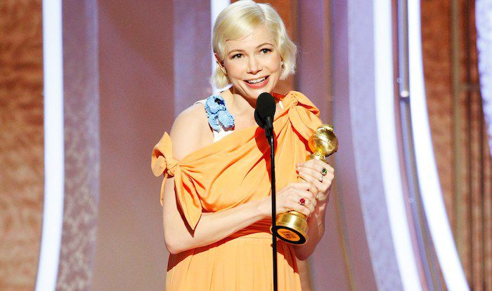 Michelle Williams Shares Her Golden Globe Abortion Credits