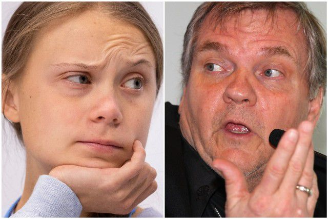 To Meat Loaf's claim that she has been ' brainwashed, ' Greta Thunberg responds