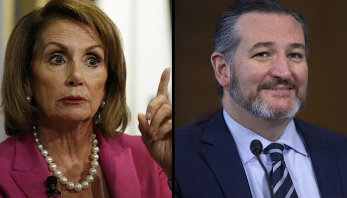 "Cruz TRIGGERS Pelosi: Trump Will Be ""Bogus Charges Acquitted Forever"""