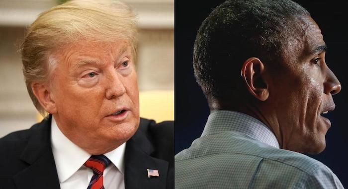 "President Trump accuses Obama on his campaign for ' ILLEGAL Spying ': ""They tried to defeat me"""