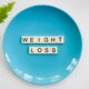 scrabble pieces on a plate 2377045