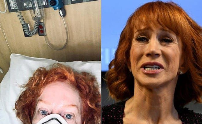 Kathy Griffin was trying to jump the queue for a COVID test, turning out she had diarrhea after a trip to Mexico.