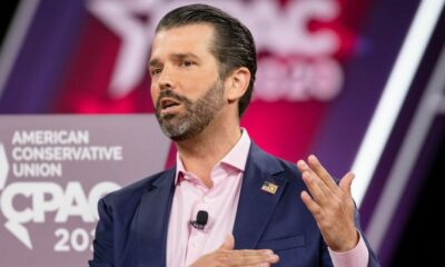 It's Don Jr. Stands up for Christians, Blasts NYT for Piece Blaming COVID Crisis for Evangelicals