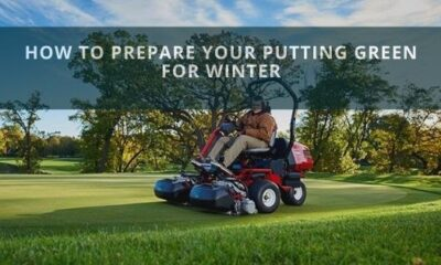 How To Prepare Your Putting Green For Winter